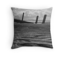 what once was..... Portsalon Beach, Donegal. Throw Pillow