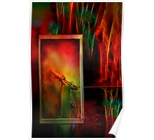 Autumn Fire - Abstract Art Poster