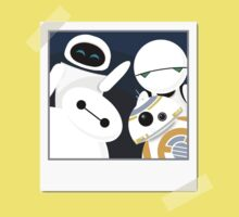 Baymax and Friends Selfie  Baby Tee