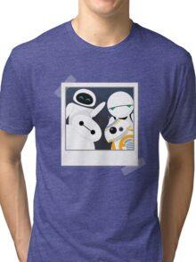 Baymax and Friends Selfie  Tri-blend T-Shirt