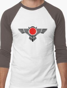Egyptian Sun Disc, Winged Globe, Symbol of the perfected soul,  Men's Baseball ¾ T-Shirt
