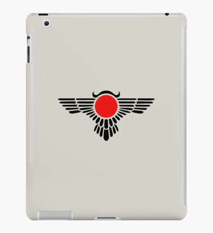 Egyptian Sun Disc, Winged Globe, Symbol of the perfected soul,  iPad Case/Skin
