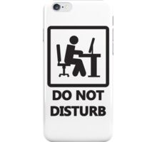 Gaming - DO NOT DISTURB iPhone Case/Skin