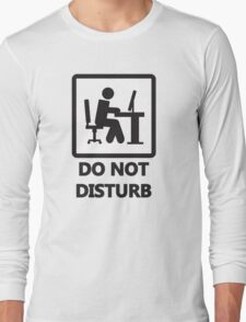 Gaming - DO NOT DISTURB Long Sleeve T-Shirt
