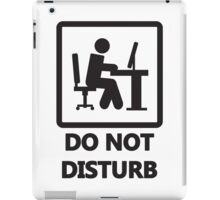 Gaming - DO NOT DISTURB iPad Case/Skin