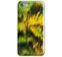 Abstract autumn colours reflected in the river iPhone Case/Skin