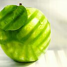 Green Apple Still Life by SolteroArt