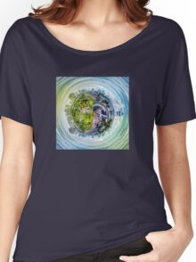 City Panorama HDR Women's Relaxed Fit T-Shirt