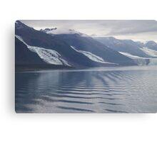 Glaciers College Fiord Alaska Metal Print