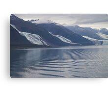 Glaciers College Fiord Alaska Canvas Print
