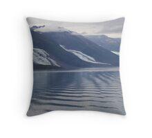 Glaciers College Fiord Alaska Throw Pillow