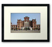 Racconigi Castle Framed Print