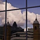 South Bank Reflection by SpencerCopping