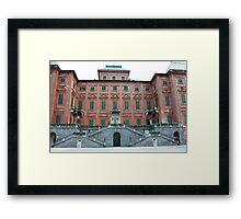 Racconigi Castle 2 Framed Print