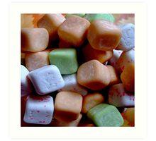 Juicy cube Art Print
