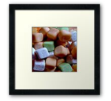 Juicy cube Framed Print