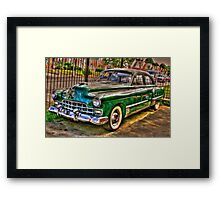 1948 Cadillac-side view full Framed Print