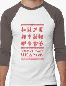 Monster Hunter: Select Your Weapon Men's Baseball ¾ T-Shirt