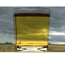 A Glass of Beer Photographic Print