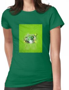 Save Our Planet Womens Fitted T-Shirt