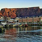 Table Mountain From The Harbour by Scootarts