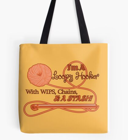Crochet Puns and Innuendos Tote Bag