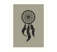 Dream Catcher, Native American Indians, Protection Art Print