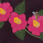 my pink flowers by ANNABEL   S. ALENTON