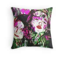 Kylie and Tyler  Throw Pillow