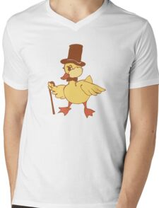 Mr. important Duckling Mens V-Neck T-Shirt