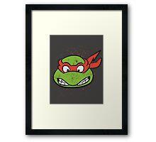 TMNT Raphael Framed Print