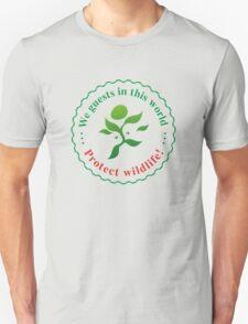 "Emblem ""Protect wildlife!"" T-Shirt"