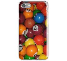 Gum Ball Snooker/Pool iPhone Case/Skin