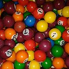 Gum Ball Snooker/Pool by Terri-Leigh Stockdale