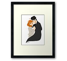 Spooky Love Framed Print