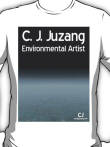 C. J. Juzang Environmental Artist - I T-Shirt