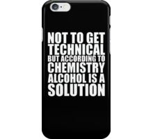Funny Solution  iPhone Case/Skin
