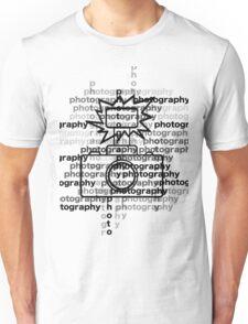 Photography text_camera T-Shirt