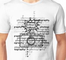 Photography text_camera Unisex T-Shirt