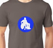 DISABLEED PARKING ZONE  Unisex T-Shirt