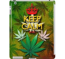 Keep Calm and...Marijuana Leaf! iPad Case/Skin