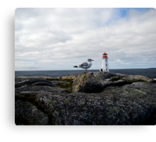 Peggy's Cove III Canvas Print