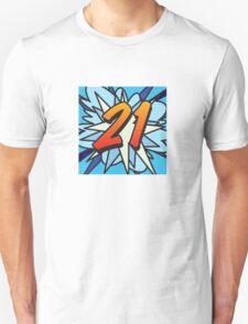 Comic Book 21 blue T-Shirt