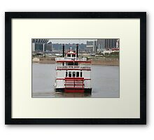 Bye Bye River Queen Framed Print