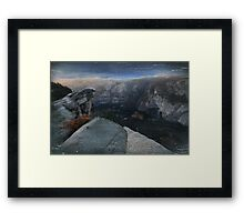 The Valley So Low Framed Print