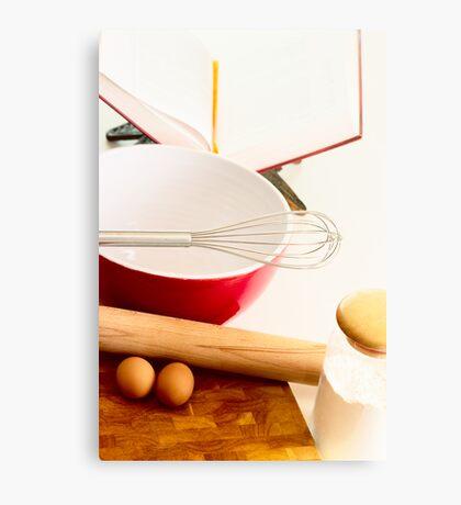 Baking Canvas Print