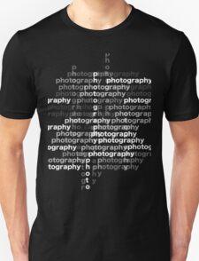 Photography text_04 T-Shirt
