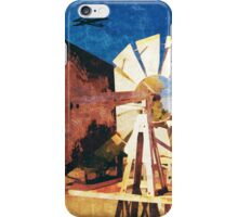 Outback Windmill #1 iPhone Case/Skin