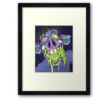 Barf Monster Framed Print