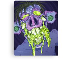 Barf Monster Canvas Print